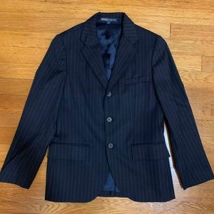 Polo by Ralph Lauren girls pinstripe blazer size12